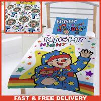 Mr Tumble Duvet Cover, Reversible Junior Duvet Cover Set For Girls / Boys Night