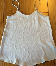 VALLEY GIRL Size 8 Blue Sheer Polyester Loose Fit Top