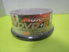 30 Pack 16x High Speed JVC DVD-R Recordable DVD Discs 120 Min 4.7 Gig New