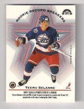1993 DONRUSS  SELANNE / JUNEAU ROOKIE RECORD BREAKERS CARD #394