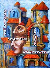Painting Original Oil on canvas CONTEMPORARY ART surrealism postimpressionism