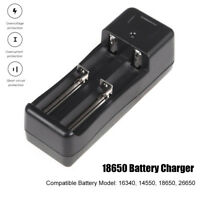 Universal 18650 Battery Charger Short Circuit Protection LED Light Indication !