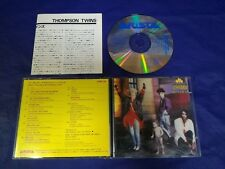 Thompson Twins Here's To Future Days Japan 1985 1st CD 32RD-36