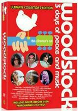 Woodstock 3 Days of Peace and Music Ultimate Collector's Anniversary Ed Reg4 DVD