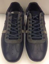 Lacoste Misano 31 SRM Dark Blue Gray Leather Sneakers 13 US 12 UK 47 EUR NIB New
