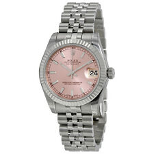 Rolex Ladies Datejust Lady 31 Pink 18K Gold Automatic Swiss Made Watch 178274PSJ