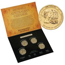 2010 UNCIRCULATED 100 YEARS OF AUSTRALIAN COINAGE PRIVY MARKED 'A D H P' SET 1