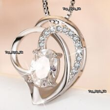 XMAS GIFTS FOR HER Special Crystal Necklace Girlfriend Women Mother Gradma Z7