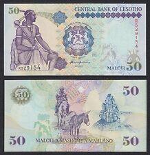 Lesoto - Lesotho  50 Maloti  2001  Pick 17d  SC = UNC