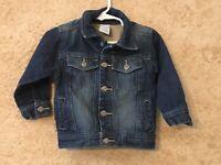 Wonder Kids Jean Jacket Size 18 Months