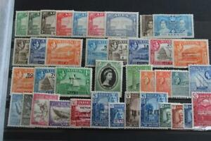 ADEN Collection of 60 Stamps Dhows onwards Most MINT some used