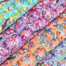 Cotton Fabric per FQ Little Duck with Polka Dot Spot Umbrella & Hat Cartoon VA90