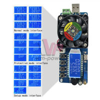 35W LED Digital Electronic Load USB Power Battery Tester Battery Capacity Tester