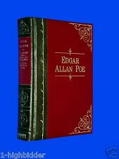 Edgar Allan Poe Bonded Leather Complete Tales of Mystery Imagination Raven Poems