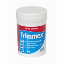 Trimmex Stop Bleed Stops Bleeding Pet Dog Cat Claws Coagulant Syptic Powder 30g