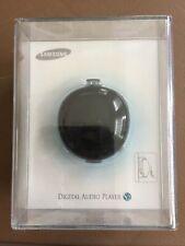 New Rare Sealed Samsung Yp-S2 Zb Pebble 1Gb Black Mp3 Player