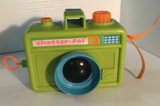 Vintage MATTEL CHATTER PAL 1972 TOY CAMERA Pull String Works Working Condition