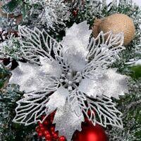 Christbaumschmuck Weihnachts simulation Blume Weihnachts schmuck 5PC