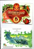 BROOKE BOND (PG TIPS) EMPTY ALBUM CREATURES OF LEGEND WITH KEVIN TIPPS  EX/MINT