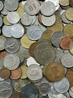 Nice Mixed Bulk Lot of 100 Assorted Worldwide Coins! Excellent Assortment!