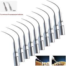 10PCS Dental Ultrasonic Piezo Scaler Scaling Tip G4 For EMS WOODPECKER Handpiece