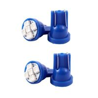 4 x T10 Azul 5 LED 1210 SMD Salpicadero Brecha Bombilla para coche V1H2