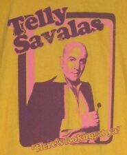 TELLY SAVALAS KOJAK LICENSED 2013 RETRO PHOTO SHIRT LARGE OOP MINT CLASSIC TV