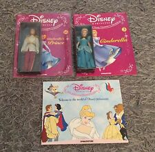 Disney Princess Cinderella DeAgostini porcelain ceramic dolls figures Charming