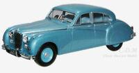 Oxford 1/43 O Scale Jaguar MK VIII Twilight Blue Die-Cast Metal Car #JAGV11005