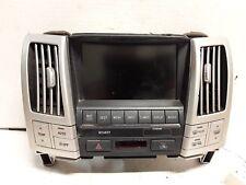 07 2007 Lexus RX400 Hybrid GPS display screen OEM 86110-48390