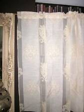 "Malia MADRAS TOPEND Designer né Curtain Panel 68""x54"" 1.37m"
