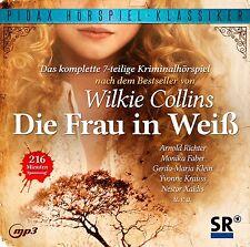 Die Frau in Weiß * CD Hörspiel von Wilkie Collins Krimi Pidax MP3-CD Neu Ovp