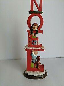 Kathy Ireland Home Once Upon a Christmas Noel Figurine, 9.75 in. Gorham/Lenox