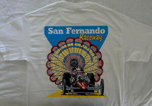 San Fernando Valley Raceway Drag Strip T Shirt California 1/4 Mile
