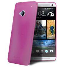 Coque Housse Etui Translucide Ultra Fine 0.3mm Pour HTC One (M7) Rose