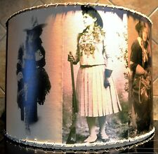 Cowgirl Lamp Shade, 16 x 16 Barrel Shade, Western Decor