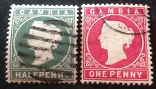 Gambia 1866+ 2 x Stamps vfu