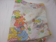 Vintage Popples Twin Fitted Sheet Only