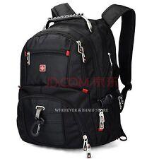 """Swiss Win Men 17"""" Laptop Computer Backpack Sport Travel School Bag Rucksack D19"""