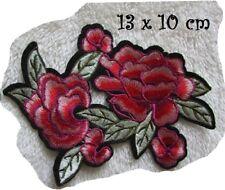 C5351 - BOUQUET FLEUR ** 13 x 10 cm ** APPLIQUE ÉCUSSON PATCH THERMOCOLLANT