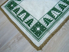 Gorgeous Vintage Christmas decorative Xmas Table runner
