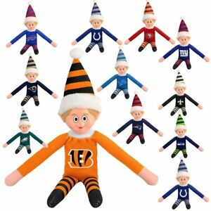 Forever Collectibles Officially Licensed NFL 14-inch Team Elf 492224-J