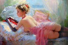 HD Print On Canvas Figure Oil Painting Picture Nude Art For Home Decor PR022