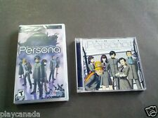 Shin Megami Tensei Persona PSP + Soundtrack CD - VERY RARE - BRAND NEW SEALED