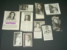 SET OF MAGAZINE CLIPPINGS Staci Keanan my two dads tv show