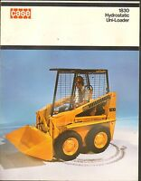 1970s VINTAGE CATALOG #1902 - CASE 1830 HYDROSTATIC UNI-LOADER