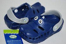 NEW POLLIWALKS NAVY BLUE ALLIGATOR GATOR shoe clogs 3D sandal 7 8 9 10 11 12 kid