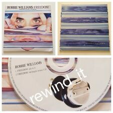 "ROBBIE WILLIAMS ""FREEDOM"" RARE CDsingle PROMO 2 Tracks"