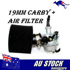 19mm Carby Carburettor Dual Foam Air Filter 50cc 70cc 110cc  QUAD DIRT PIT Bike