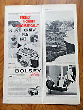 1955 Bolsey Jubilee 35mm Set-O-Matic Camera Ad
